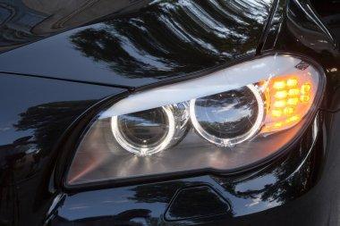 Headlights of 7 series BMW