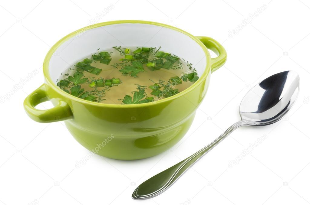 этого тарелка с супом и ложкой картинки были против
