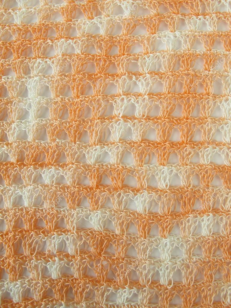 Häkeln Sie Muster Hintergrund Coral — Stockfoto © HeikeRau #57573411