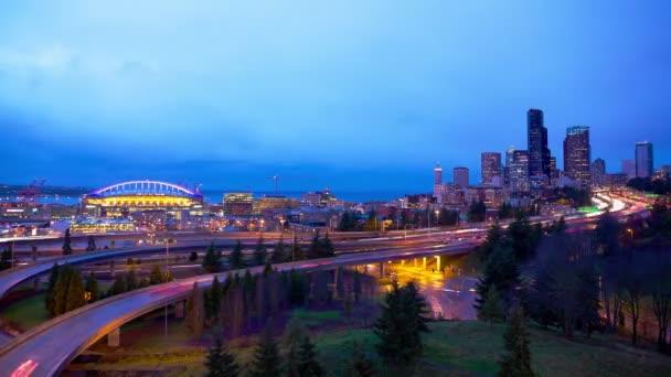 Luci della città di Seattle