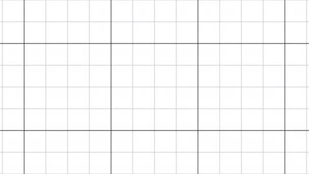 Přesouvání čtvrtletních řádků grafu mřížky