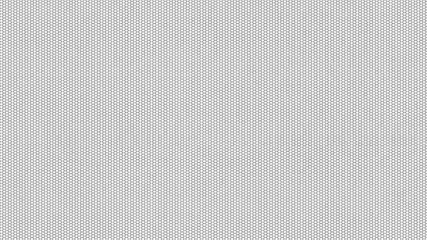 Hex rács streaming maszk Hexagons Finom vonalak az egész keret