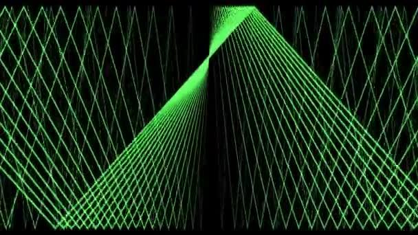 Laser Grid Green Network Panels Walls