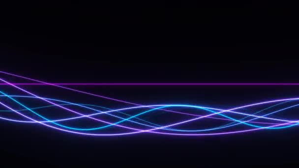 Sima bordák neon 80-as évek fény áramló gerendák fény simított
