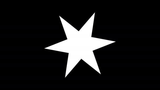 Šesticípá hvězdicová maska
