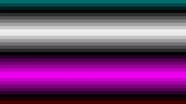 Paprsky primárních barev Rgb a Cmyk pohyblivé obrazovky krok