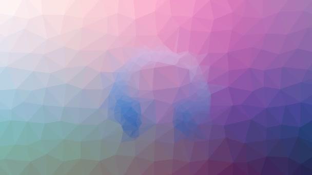 sluchátka objevují techno tessellation smyčka pohybující se trojúhelníky