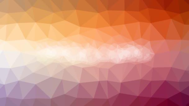 Spodní prádlo slábne podivné tessellated smyčka pohybující se trojúhelníky