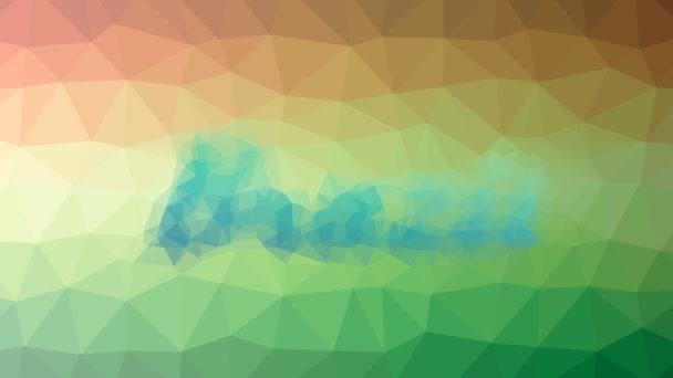 Brazil dissolving strange tessellating looping moving polygons