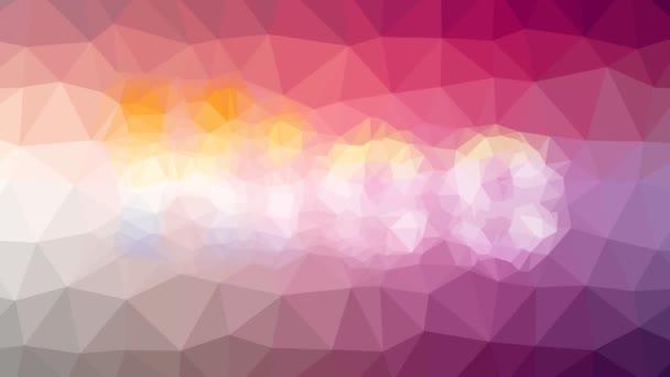 Kiss verblassen seltsam tessellated looping pulsierende Polygone