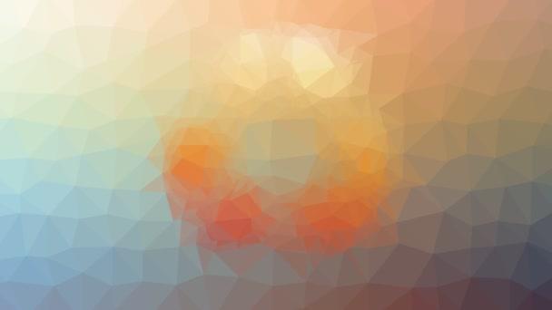 újrahasznosítás megjelenő furcsa tessellation hurok pulzáló háromszögek