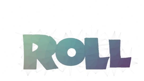 Roll On Text Ändern Tessellation Looping Grid Text Morph