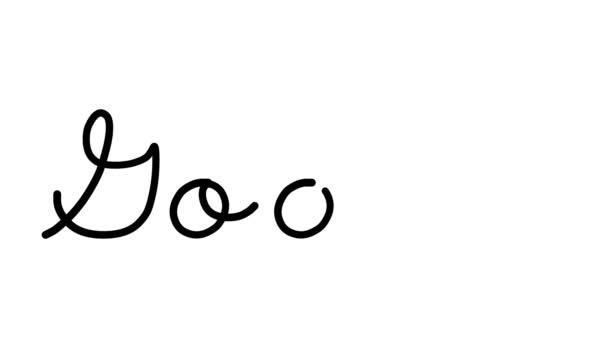 Áruk dekoratív kézírás animáció hat kurzív és gótikus betűkkel