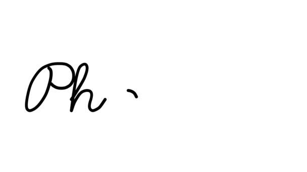 Pharma Decorative Handwriting Animation in Six Cursive and Gothic Fonts