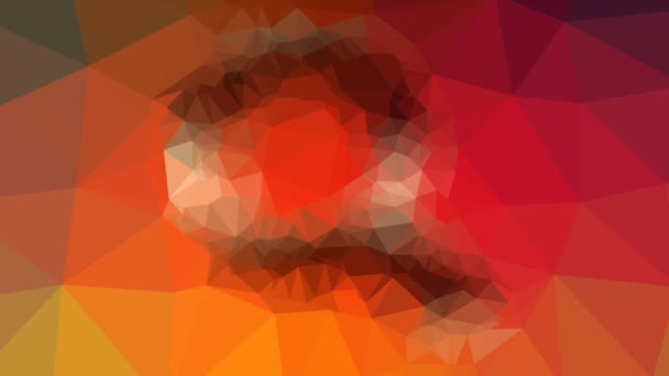 Suche finden Lupe vergrößern erscheinen interessant tessellating looping pulsierende Dreiecke