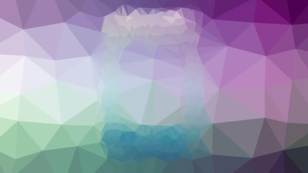telefon tablet rozpouštění moderní tessellation smyčka pohybující se mnohoúhelníky