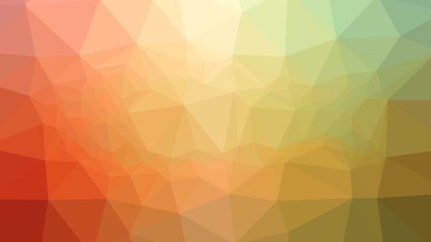 Fische lösen moderne tessellated looping animierte Dreiecke auf