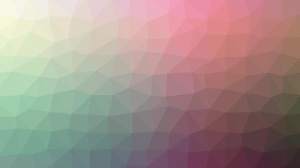 těsnění rozpouštění podivné tessellating smyčka pohybující se trojúhelníky