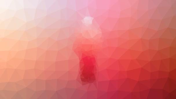 muž lidský rozpouštění podivné tessellating smyčka animované polygony