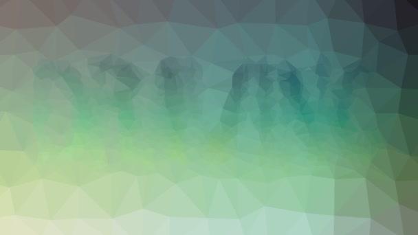 Kresba rozpouštění podivné tessellation smyčka pulzující polygony