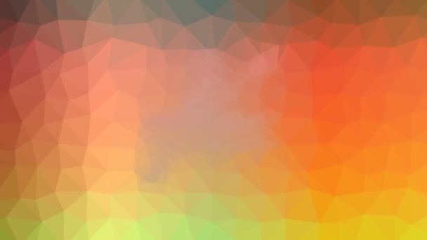 kajakářství rozpouštění techno tessellating smyčka pulzující trojúhelníky