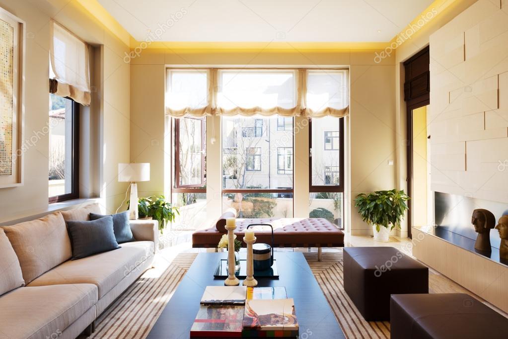 Interieur van moderne woonkamer u stockfoto zhudifeng