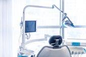 Fotografie equipment in modern dentist clinic