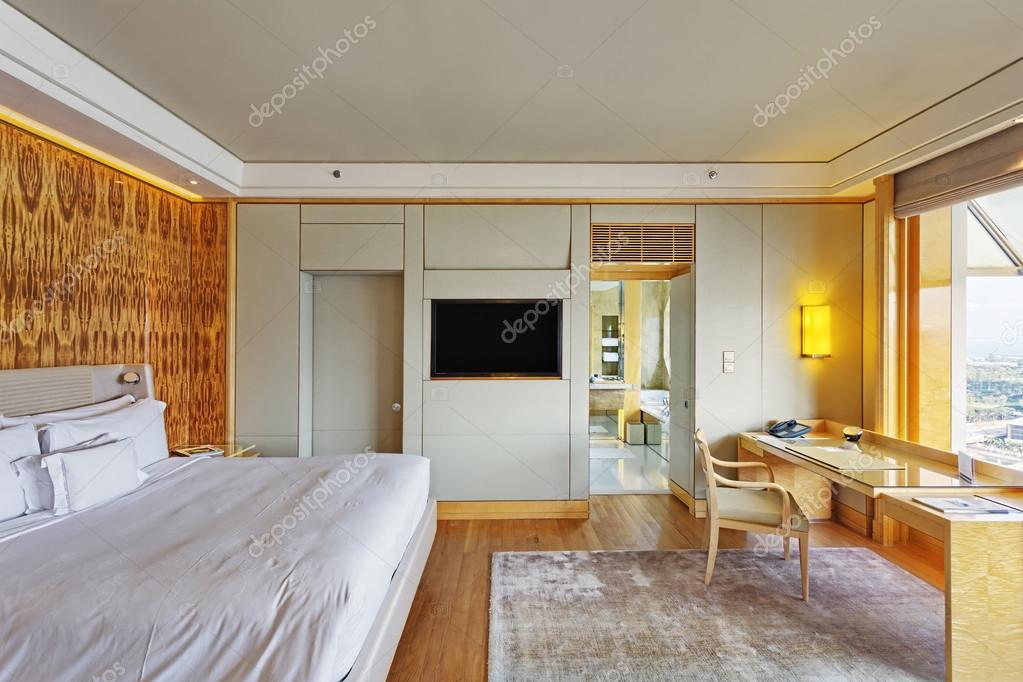 Moderne Schlafzimmer Einrichtung Mit Luxuriose Dekoration