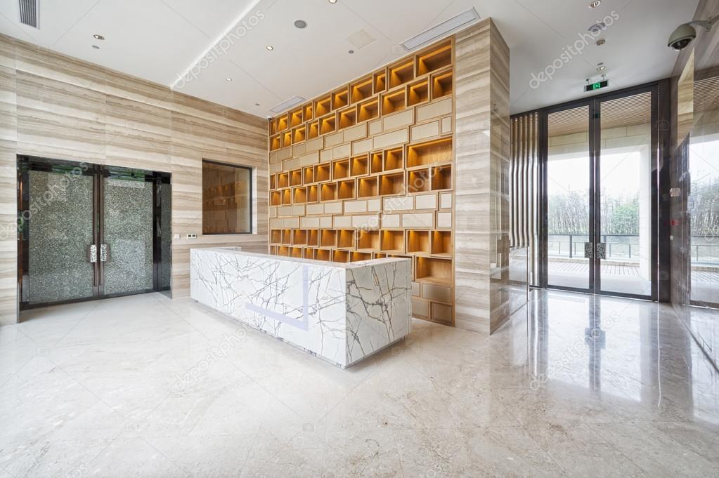 Moderne kantoor entree lobby u2014 stockfoto © zhudifeng #52436335