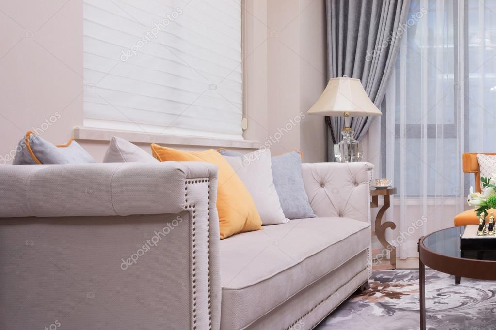 Moderne woonkamer luxe decoratie interieur u stockfoto zhudifeng