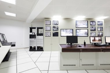 Surveillance control room