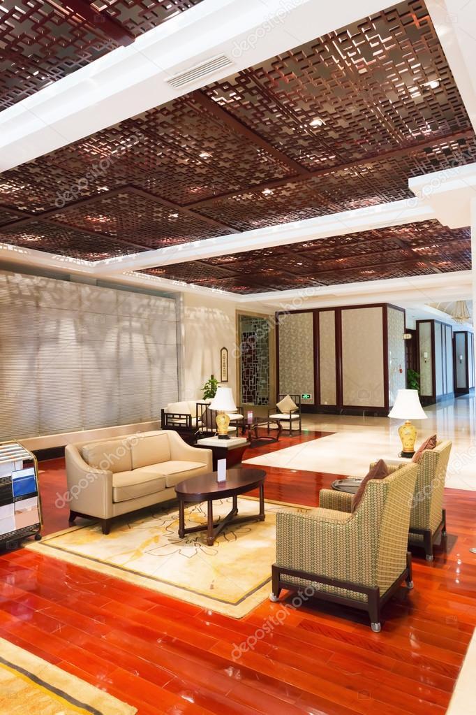 modernes Hotel Interieur und Flur — Stockfoto © zhudifeng #61671669