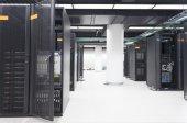 Photo Telecommunication server in data center