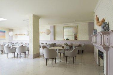 luxury restaurant interior and furniture