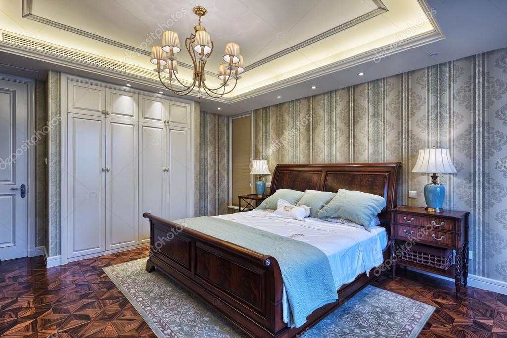 Hervorragend Luxus Schlafzimmer Einrichtung Und Dekoration U2014 Stockfoto