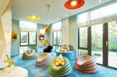 interior of kids room