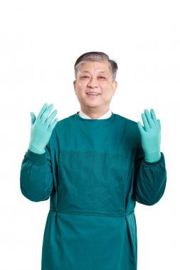 old asian man doctor