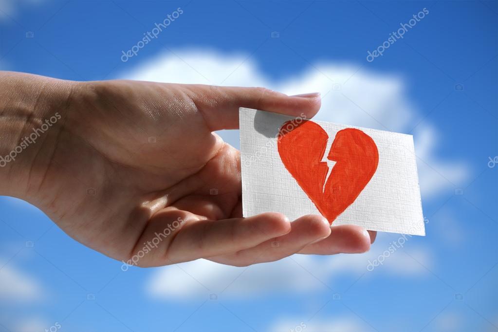 Symbol Of Broken Heart Stock Photo Yoka66 89531650