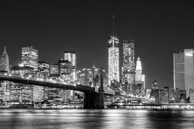 Black and White New York Skyline