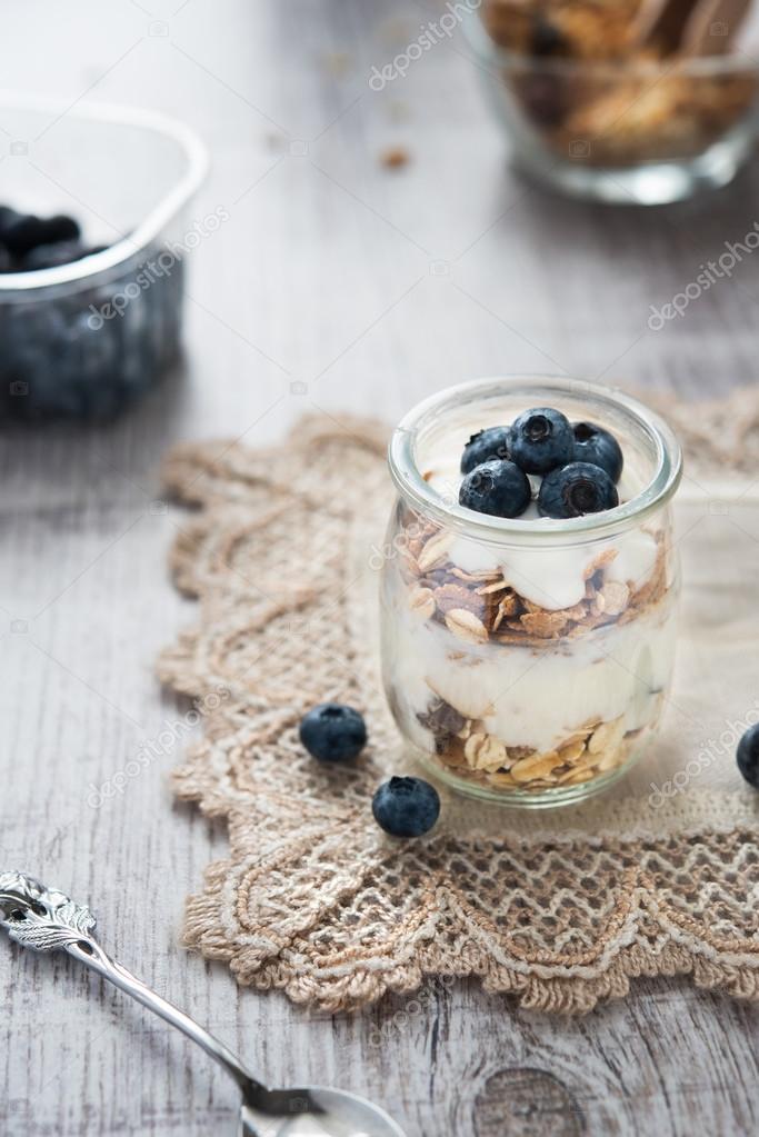 Бесплатное изображение: завтрак, мюсли, диета, еда, чаша, йогурт.