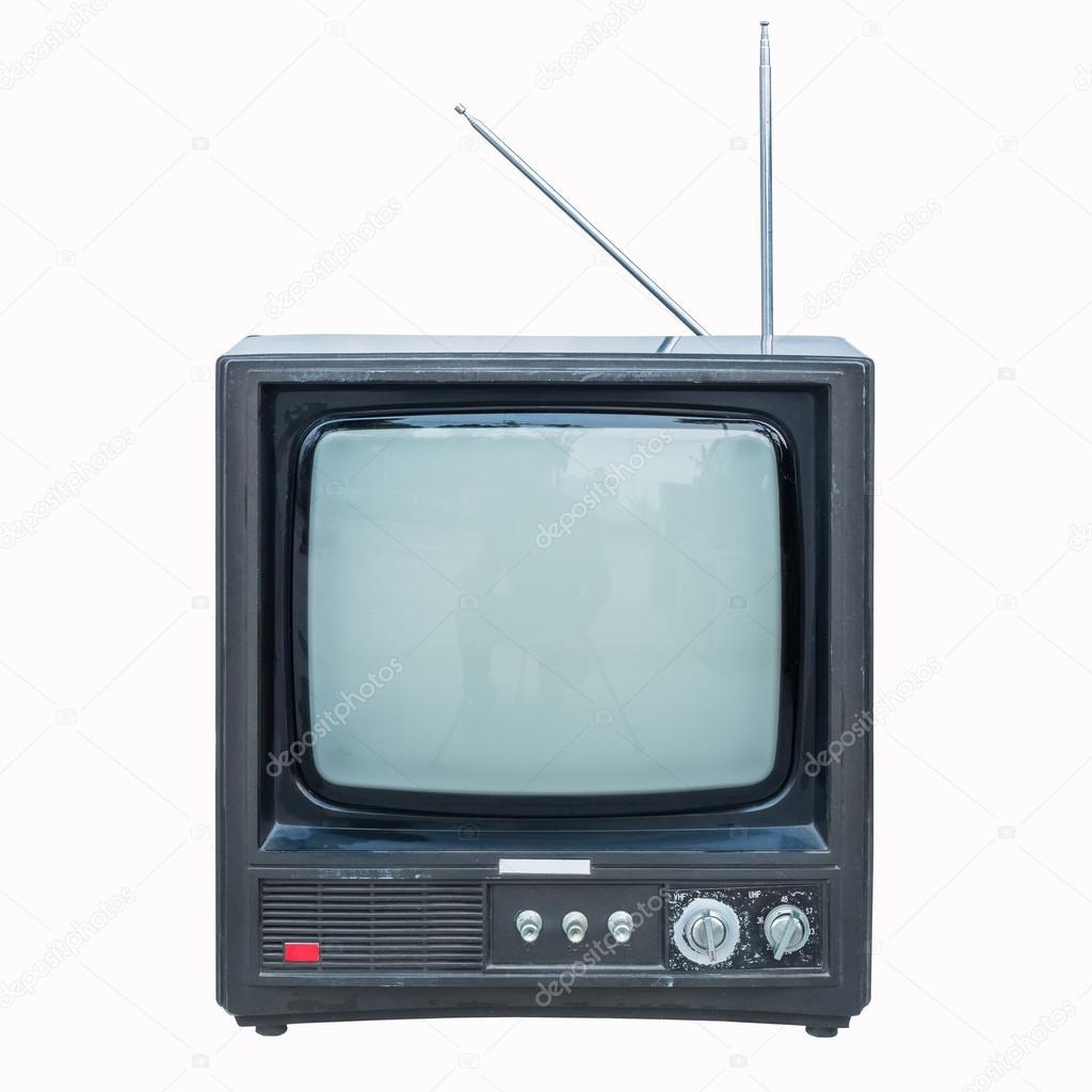 Old Black And White Television Stock Photo Chungking 71859899