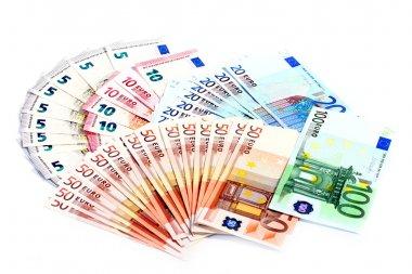 paper euro banknotes