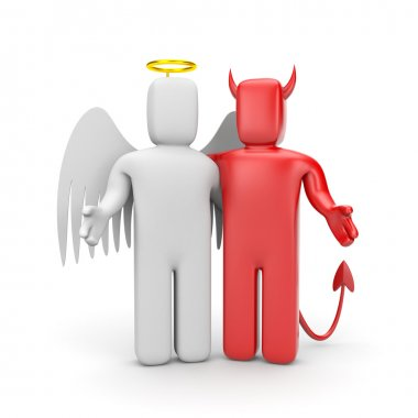 The friendship between good and evil