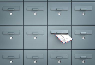 Mailboxes business metaphor