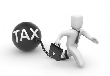 Businessman and tax law