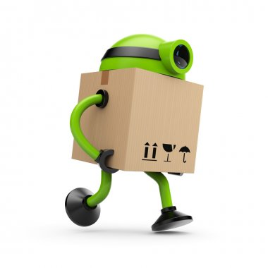 The robot postman