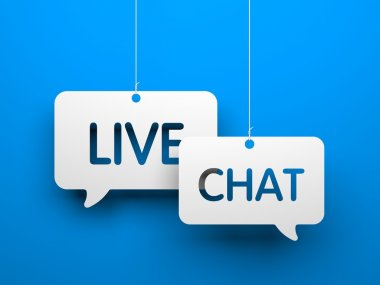 Live chat ymbols