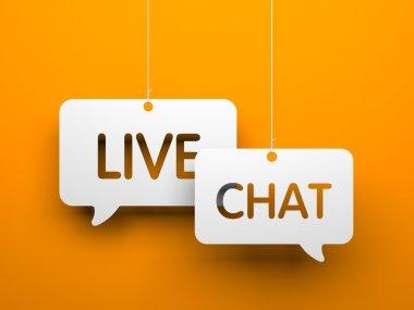 Live chat symbols