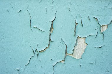 Cracking, peeling paint