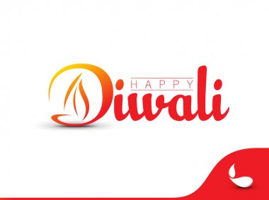 Happy Diwali Background. Abstract vector illustration on the theme of the traditional celebration stock vector